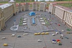 Ukraine. Kiev. Museum of Miniatures. Independence Square Royalty Free Stock Photo