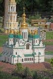 Ukraine. Kiev. Museum of Miniatures. St Andrew's Church Stock Image