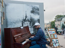 UKRAINE, KIEV - September 9,2013: Andrew's Descent, casual passe Stock Photo