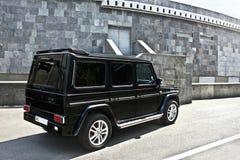 Ukraine, Kiev; September 21, 2014; Mercedes-Benz G 55 stock photo