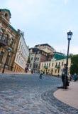 UKRAINE, KIEV - September 10,2013: St. Andrew's Descent  - the h Stock Photo