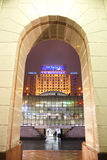 ukraine kiev Soort van maydana van Onafhankelijkheid aan het hotel het UK Royalty-vrije Stock Foto