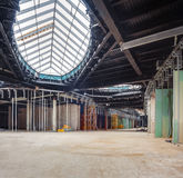 UKRAINE, KIEV. Trade area. Progress in the construction of shopping mall Republic Royalty Free Stock Photos