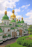 Ukraine. Kiev.Ukraine. Saint Sophias Cathedral. Saint Sophia Cathedral in Kiev is an outstanding architectural monument of Kievan Rus. The cathedral is one of Royalty Free Stock Photography