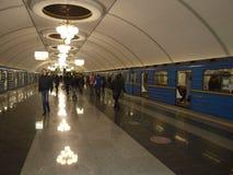 Ukraine kiew Kievssky Untertage lizenzfreie stockfotos