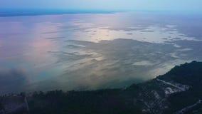 ukraine kiew Vyshgorod Kyiv-Meer aerial Dnieper vorratsbeh?lter GAES Ges stock footage