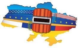 Ukraine-Konflikt Lizenzfreies Stockfoto