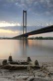 Ukraine. Kyiv. Pivdenny Mist (Southern Bridge) Royalty Free Stock Images