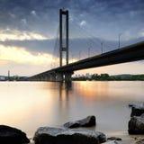 Ukraine. Kyiv. Pivdenny Mist (Southern Bridge) Stock Photo
