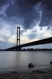 Ukraine. Kyiv. Pivdenny Mist (Southern Bridge) Stock Images