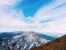 Ukraine.Landscape.Carpathian's. On the highest mountain in Ukraine, Hoverla Royalty Free Stock Image