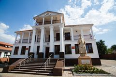 ukraine mariupol Grieks Centrum royalty-vrije stock fotografie