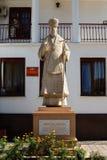 ukraine mariupol Grieks Centrum Standbeeld van St Ignatius stock afbeelding