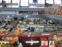 Ukraine market. Covered Market in Kiev at Podol area Stock Photography