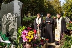 Ukraine markiert den Tag des Verteidigers des Vaterlands Lizenzfreie Stockfotografie