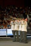 Ukraine military band Royalty Free Stock Image