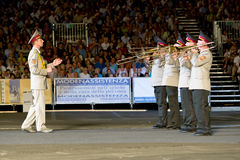 Ukraine military band Stock Image