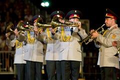 Ukraine military band Royalty Free Stock Photo