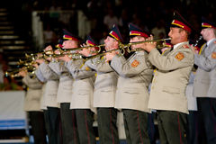 Ukraine military band Stock Images