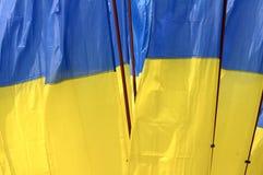 Ukraine national flag Royalty Free Stock Photo