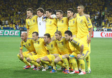 Ukraine national football team Stock Image