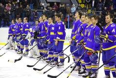 Ukraine national ice-hockey team Stock Photography