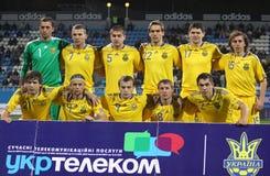 Ukraine national soccer team Royalty Free Stock Image