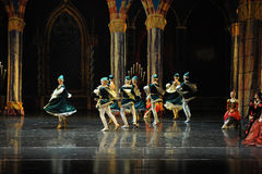 Ukraine national song and dance-ballet Swan Lake Royalty Free Stock Image