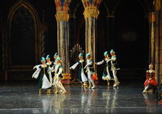 Ukraine national song and dance-ballet Swan Lake Stock Images