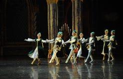 Ukraine national song and dance-ballet Swan Lake Stock Image