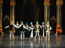 Ukraine national song and dance-ballet Swan Lake Stock Photo
