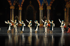 Ukraine national song and dance-ballet Swan Lake Royalty Free Stock Photo