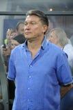 Ukraine national team manager Oleg Blokhin Stock Image