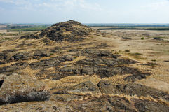Ukraine. Natural Reserve Stone Tombs Stock Images