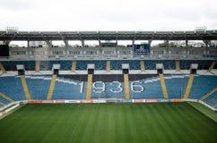 Ukraine, Odessa 24. September 2017 Chernomorets-Stadion lizenzfreie stockfotografie