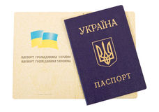Ukraine passport Royalty Free Stock Photography