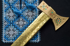 Ukraine pattern Royalty Free Stock Photography