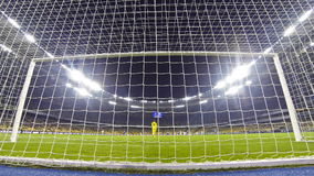 Ukraine Premier League Game between FC Dynamo Kyiv and Olimpic stock video footage