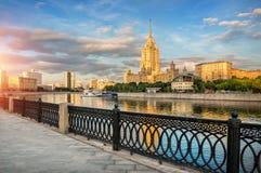 Ukraine in the rays of Stock Photo