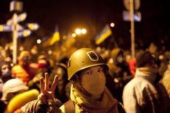 Ukraine revolution Royalty Free Stock Image