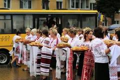 Ukraine-` s Unabhängigkeitstag Stockfoto