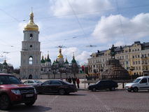 Ukraine. Saint Sophia's Cathedral, Kiev Royalty Free Stock Images