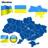 Ukraine set. Stock Image