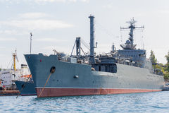 Ukraine, Sevastopol - September 02, 2011: Maritime transport wea Royalty Free Stock Photos