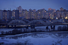 Ukraine: Suburb in Kiev Stock Photography