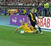 Ukraine - Sweden national teams football match Stock Photo