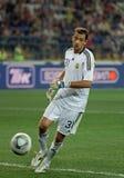 Ukraine - Sweden national teams football match royalty free stock photos