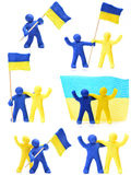 Ukraine Togather Stock Image