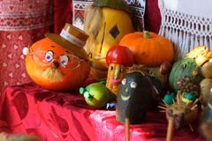 Ukraine tradition dolls Stock Photography