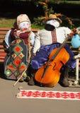 Ukraine tradition dolls Stock Image